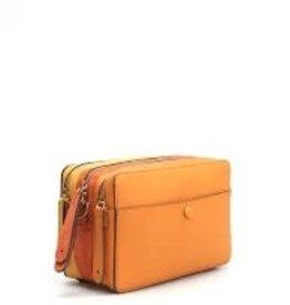 ANYA HINDMARCH The Stack Shoulder Crossbody - Sunset Orange