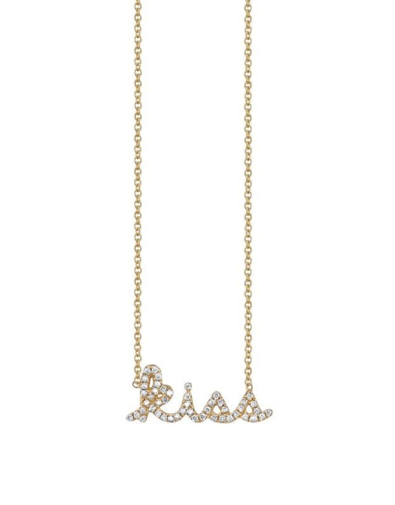 SYDNEY EVAN Diamond Kiss Necklace