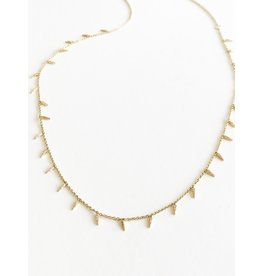 SYDNEY EVAN Pave Fringe Necklace