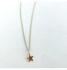 SYDNEY EVAN Gold Star Necklace