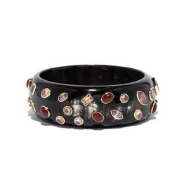 ASHLEY PITTMAN Mpango Bangle Dark Horn