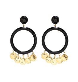 ASHLEY PITTMAN Azali Earring Dark Horn