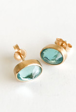 JAMIE JOSEPH Apatite Post Earrings