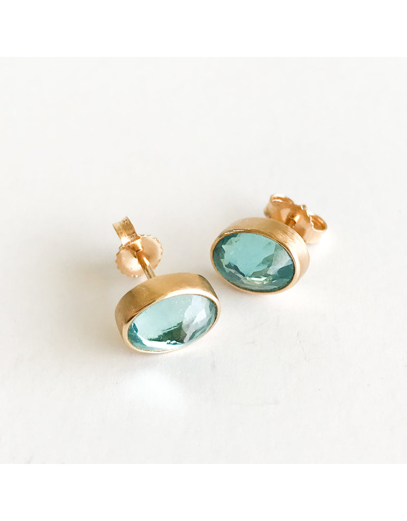 JAMIE JOSEPH Apatite Post Earrings