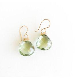 JAMIE JOSEPH Mint Quartz Earrings