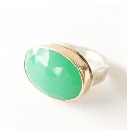 JAMIE JOSEPH Chrysoprase Ring