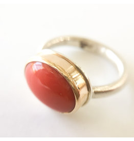 JAMIE JOSEPH Red Coral Ring