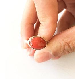 JAMIE JOSEPH Red Coral Ring