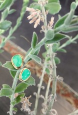 JAMIE JOSEPH Chrysoprase Post Earrings