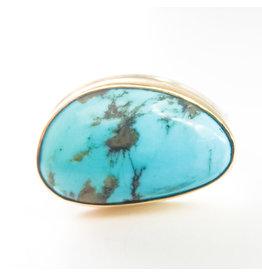 JAMIE JOSEPH Asymmetrical Turquoise Ring