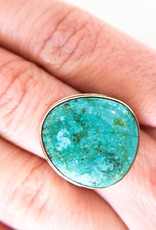 JAMIE JOSEPH Kingman Turquoise Ring