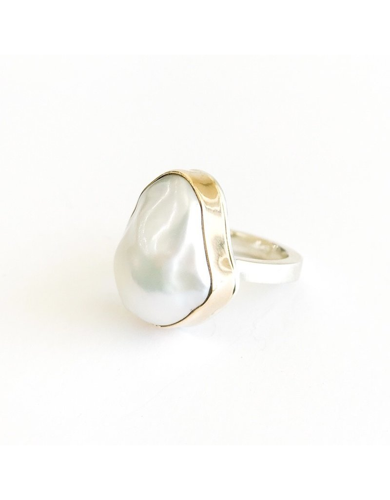 JAMIE JOSEPH White Pearl Ring