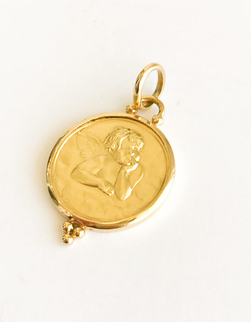 TEMPLE ST CLAIR Angel Pendant 21mm