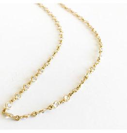 TEMPLE ST CLAIR White Sapphire Chain