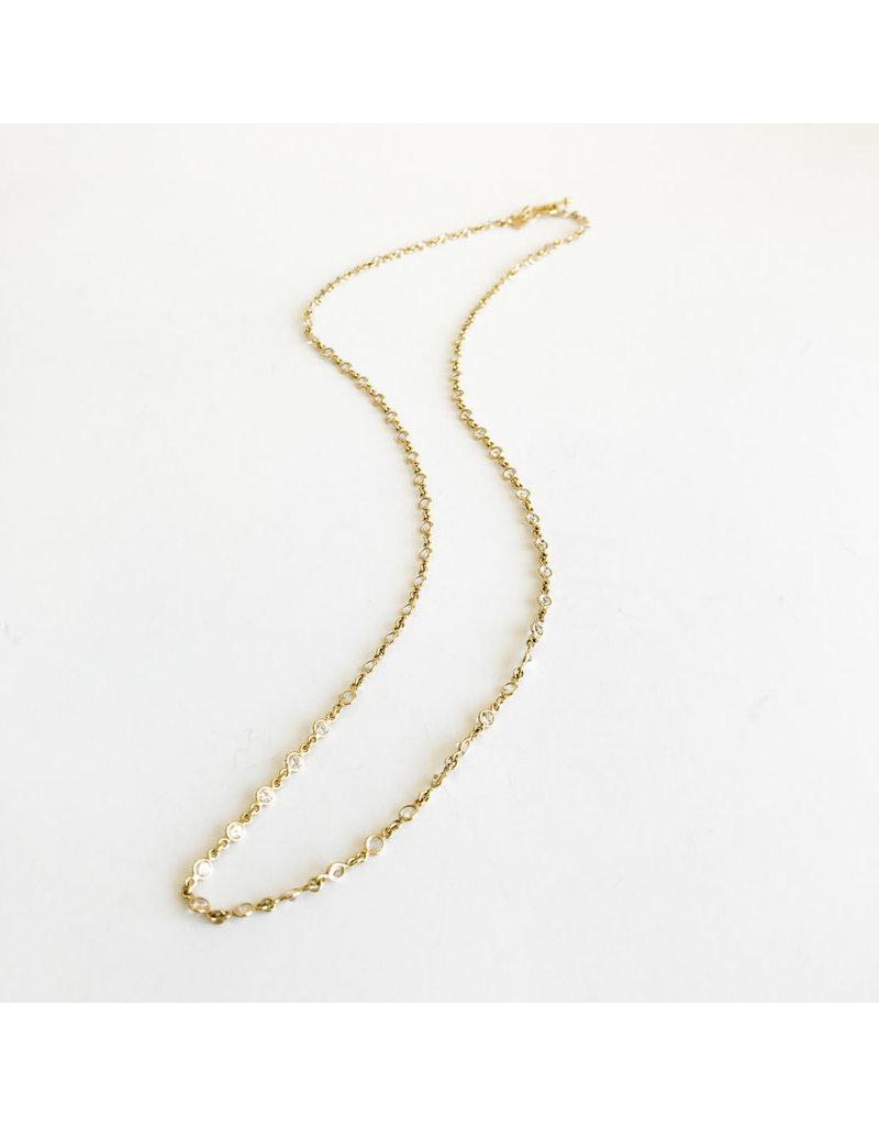 TEMPLE ST CLAIR Classic White Sapphire Chain