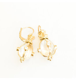 TEMPLE ST CLAIR Crystal Amulet Earring