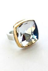 JAMIE JOSEPH Rock Crystal Quartz Ring
