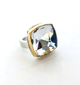 JAMIE JOSEPH Rock Crystal Quartz Ring