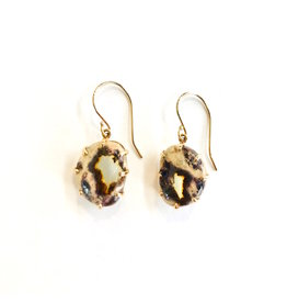 JAMIE JOSEPH Mexican Fire Opal Earrings