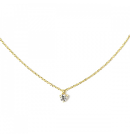 ILA Camille Diamond Choker Necklace