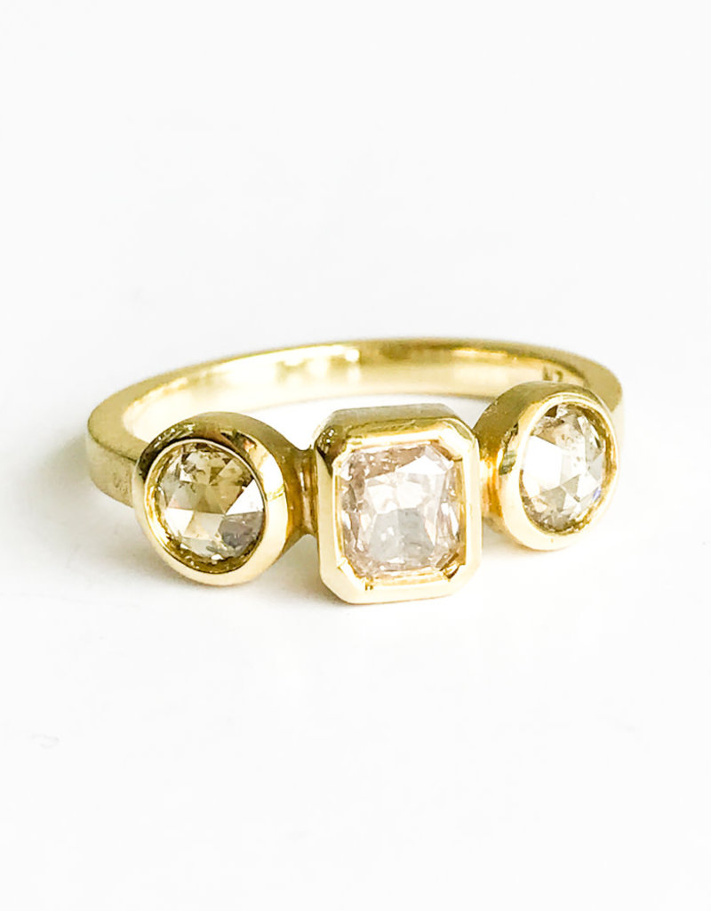 LAUREN K Champagne Diamond Ring