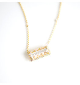 LAUREN K Morganite Layla Necklace