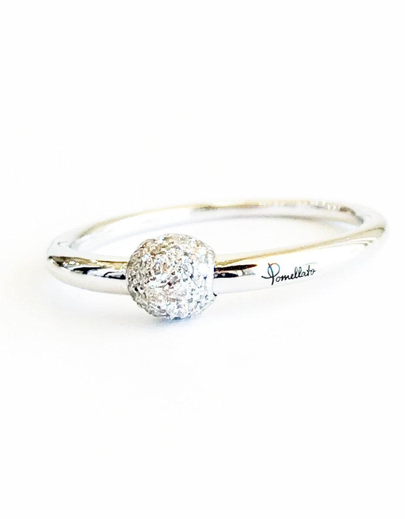 POMELLATO Small Diamond M'ama Non M'ama Ring