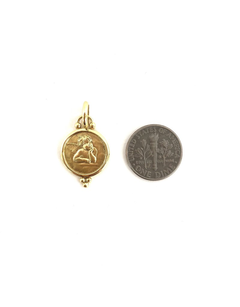 TEMPLE ST CLAIR Angel Granule Pendant