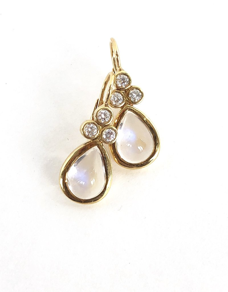 TEMPLE ST CLAIR Blue Moonstone Pear Earring