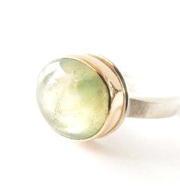 JAMIE JOSEPH Green Sapphire Ring