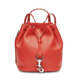 REBECCA MINKOFF Blythe Small Backpack - Tomato
