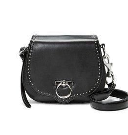 REBECCA MINKOFF Small Jean Saddle - Black