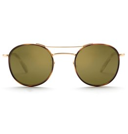 KREWE Orleans Windsor - Tobacco 24K Titanium Polarized