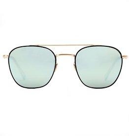 KREWE Earhart - Matte Black + 24K Titanium Aqua Mirror