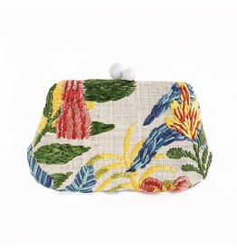 RAFE Rosie Clutch - Natural Ginger