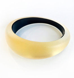 ALEXIS BITTAR Medium Tapered Bangle - Gold