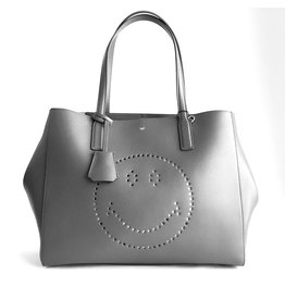 ANYA HINDMARCH Ebury Shopper Smiley
