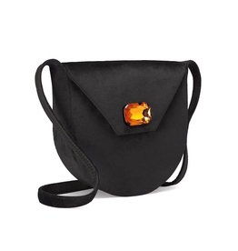 TORY BURCH Velvet Jewel Shoulder Bag