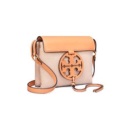TORY BURCH Miller Canvas Crossbody Natural