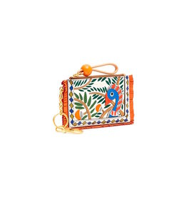 TORY BURCH Toucan Zip Card Case