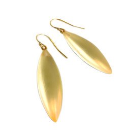 ALEXIS BITTAR Small Sliver Earring - Gold
