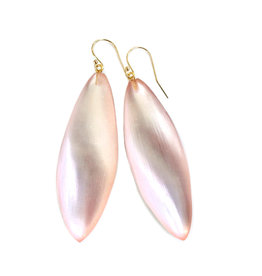 ALEXIS BITTAR Long Leaf Earrings - Sunset