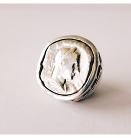 DIAN MALOUF Roman Coin Ring