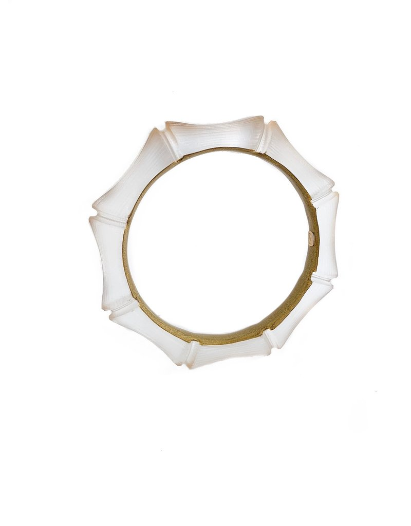 ALEXIS BITTAR Bamboo Bangle - Gold Bamboo