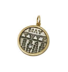 PAGE SARGISSON Diamond Calendar Charm - May 10