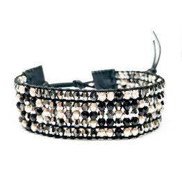 CHAN LUU Onyx Mix Bracelet