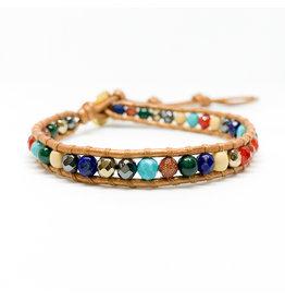 CHAN LUU Single Wrap Bracelet Multi Mix