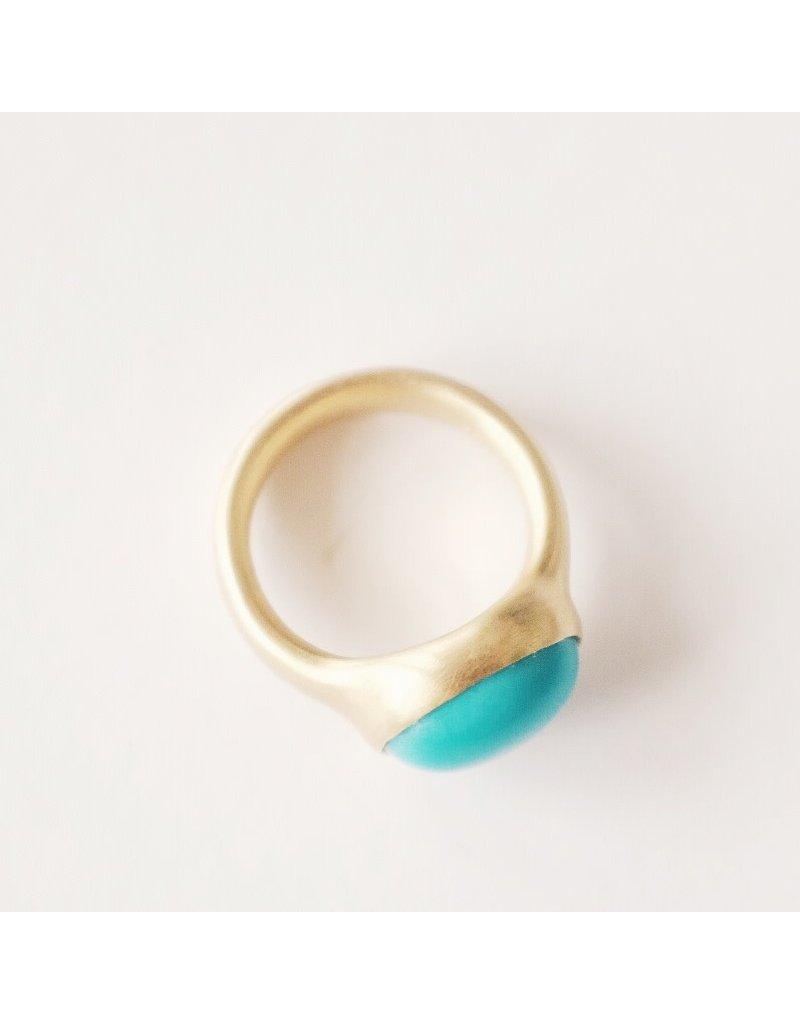ME & RO 18K Turquoise Ring