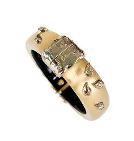 ALEXIS BITTAR Paisley Studded Hinge Bracelet
