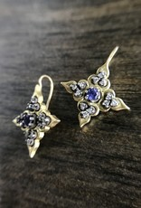 ERICA MOLINARI 18K Tanzanite Star Earrings